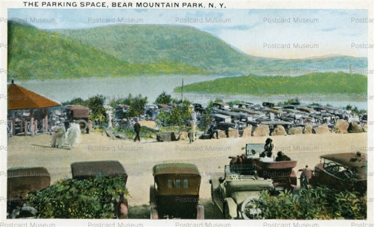 usa064-The Parking Space Bear Mountain Park N.Y.