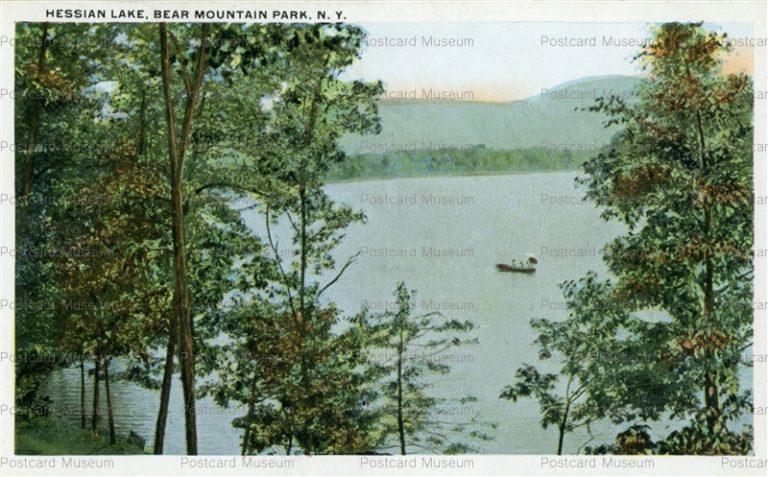 usa068-Hessian Lake Bear Mountain Park N.Y.
