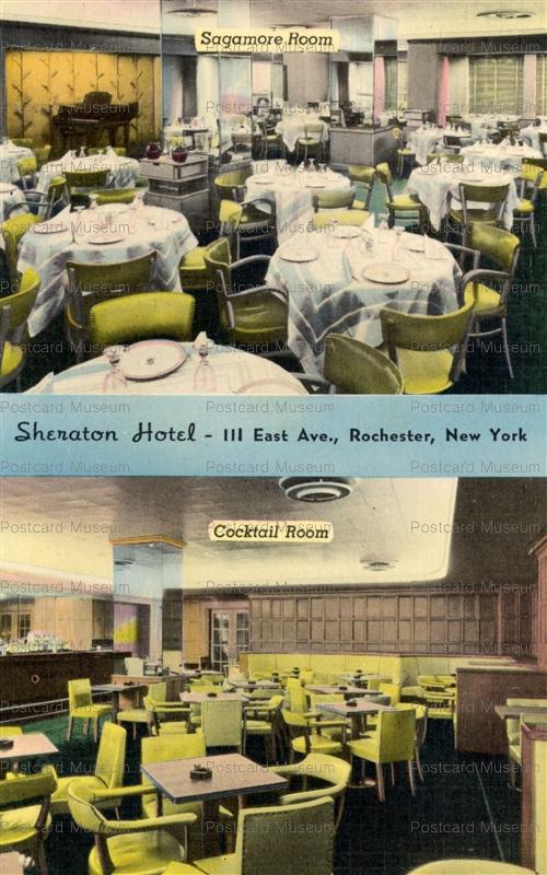 usa077-Sheraton Hotel Ⅲ East Ave.Rochester New York